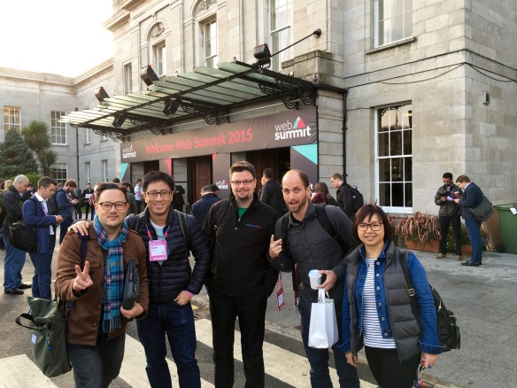 At Web Summit 2015 Dublin
